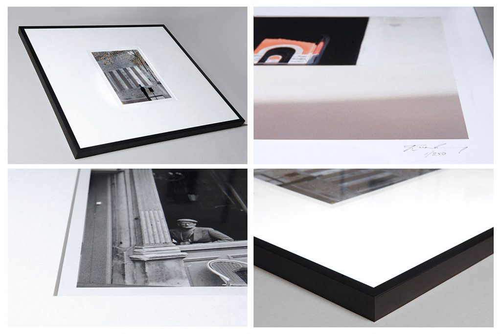Images of prints and frames at Foto Tours Edinburgh